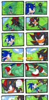 Sonic VS Shadow-Storyboard by SonicRocksMySocks