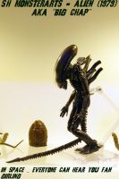 S.H Monsterarts - Alien (1979) AKA Big Chap. by GIGAN05
