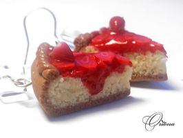 Strawberry Cheesecake 4 by OrionaJewelry