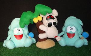 Plushies Group by GraphicPlanetDesigns