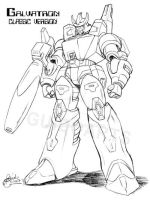 Galvatron-classic design study by GuidoGuidi
