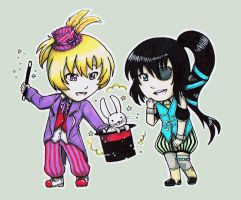 Contest prize: Kai and Aoi by Fuugis