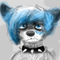 one of the versions of a drawing I did by BlueWolfehhh