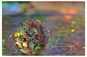 Rainbow globe by Serend1pity