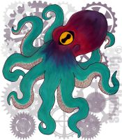 Clockwork Octopus by KohakuCho