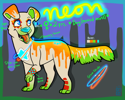 Neon :trade/sale: by little-space-ace