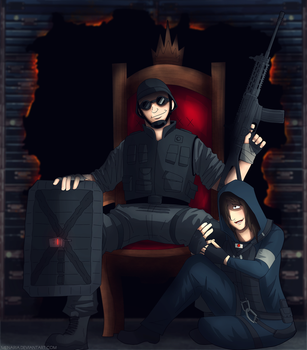 Thermite And Hibana by Menaria