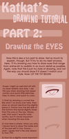 Drawing Tutorial - Eyes by Katkat-Tan