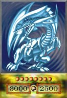 Blue-Eyes White Dragon by PlayStationScience