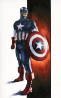 Captain America commission by gattadonna