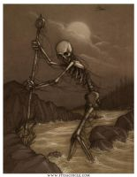bones on the shore-toned by CopperAge