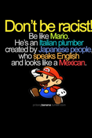 don't be racist by foxie08
