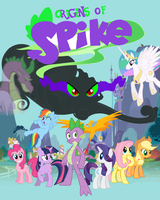 Origins Of Spike - Fanfiction Cover by joeyrock76