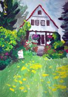 My grandmother's house by kine80