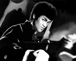 Bruce Lee by Mattessom