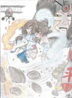 The Legend of Korra- Avatar State by MaximumArtist17