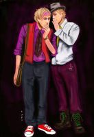 Lorcan and Lysander by o-k-go