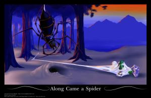 Along Came a Spider by Azzizi