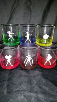 Sailor Moon Etched Glasses by RabbitTales