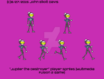 Jupiter the Destroyer Sprite Sheet by LittleGreenGamer