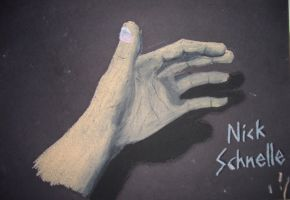 The Hand by Sch-a-nelle