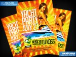 Yacht Party Flyer Template PSD by Industrykidz