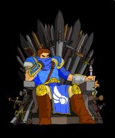 Garen of Thrones by Samotey