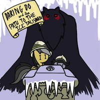 Daring Do and Path To The Ice Talisman by jak-teh-ripper