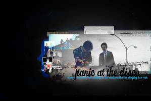 panic! at the disco by aquite
