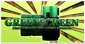 GREENSCREEN PHOTOGRAPHY LOGO by tmarried