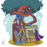 Rincewind Trixie by atryl