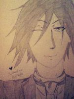 Sebastian Michaelis by WinnieDayDreamer