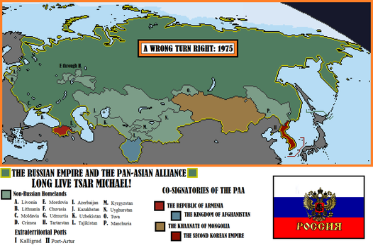 A Wrong Turn Right- Imperial Russia, 1975 by Todyo1798