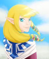 Zelda of Skyloft by hanaraad