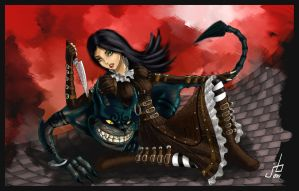 Alice madness by Beyond-your-soul