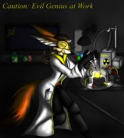 Caution: Science in progress by Snowfyre