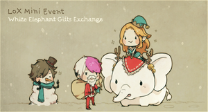 MINI-EVENT: White Elephant Gifts Exchange by riingo