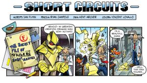 Mega Man Short Circuit 17 by RyanJampole