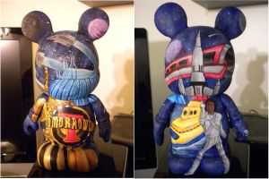 Tomorrowland Vinylmation by whatevah32