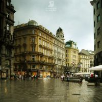 Streets of Vienna II by JeanFan