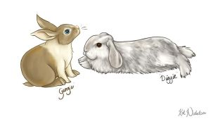 My Bunnies... by Kat-Nicholson