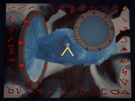 Stargate Painting by Anavar