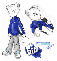 Sid the Polar bear Debut by SCIFIJACKRABBIT