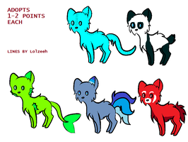 Adopts FREE by sk8ergirl1290