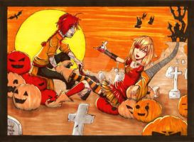 Haloween 2012 by vividfantasy7