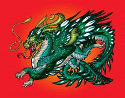 Enter the Dragon collab by hellbat