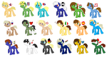 MLP Hetalia Refernce by Melon-Block