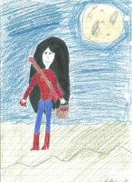 marceline the vampire queen by sweetmanillagirl