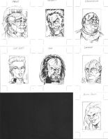 Star Trek Sketchcards 1 by ElfSong-Mat