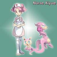 Nurse Xiyue by Deco-kun